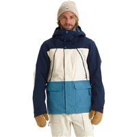Dress Blue / Almond Milk / Storm Blue Burton Breach Jacket Mens