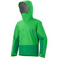 Bright Green / Dark Fern Marmot Spire Jacket Mens