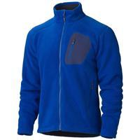 Bright Navy Marmot Warmlight Fleece Jacket Mens