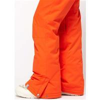 Bright Orange Roxy Evolution Pant Womens