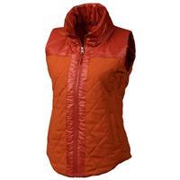 Bright Rust Heather Marmot Abigal Vest Womens