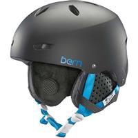 Matte Black Bern Brighton EPS MIPS Helmet Womens