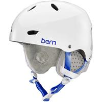 Gloss White Bern Brighton EPS MIPS Helmet Womens