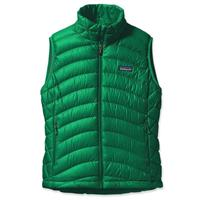 Brilliant Green Patagonia Down Sweater Vest Womens