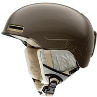 Bronze Shattered Smith Allure Helmet Womens