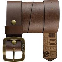 Brown Burton Retreat Leather Belt Mens