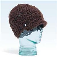 Brown Coal Ludlow Brim Beanie