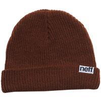 Brown Neff Fold Beanie