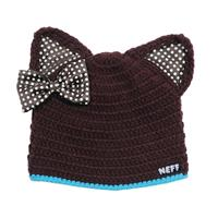 Brown Neff Kitten Beanie Youth