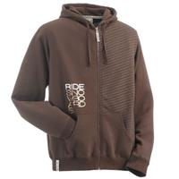 Ride Stripe Full Zip Hoodie Mens