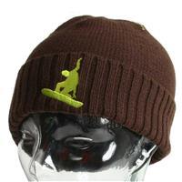 Brown Turtle Fur Park Hat Boys