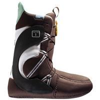 Brown / White / Mint Burton Mint Snowboard Boot Womens