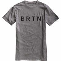 Gray Heather Burton BRTN Slim Fit Short Sleeve T Shirt Mens