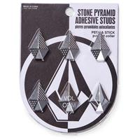 Brushed Nickel Volcom Stone Studs Stomp