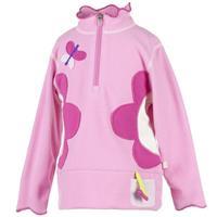 Bubble Pink Obermeyer Gaga Fleece Top Girls