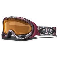 Buffalo Plaid Crimson Frame / Persimmon Lens (57 547) Oakley A Frame Goggle