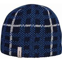 Navy Bula Checked Beanie Youth
