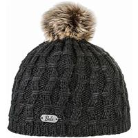Black Bula Twisted Beanie Womens