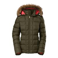 Burnt Olive Green The North Face Gotham Jacket Womens