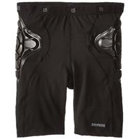 True Black Burton Total Impact Short Youth