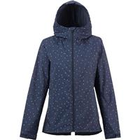 Mood Indigo Dots Burton Berkley Jacket Womens