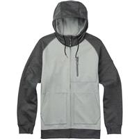 High Rise Twill Burton Bonded Full Zip Hoodie Mens