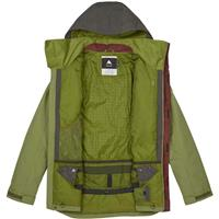 Forest Night Olive Branch Burton Breach Jacket Mens