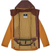 Golden Oak Chestnut Burton Breach Jacket Mens