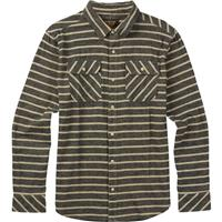 Eclipse Dock Stripe Burton Brighton Flannel LS Woven Mens