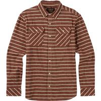 Rojo Dock Stripe Burton Brighton Flannel LS Woven Mens