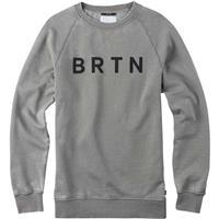 Grey Heather (17) Burton BRTN Crew Pullover Mens