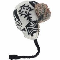 Stout White Burton Burn It Down Trapper Hat