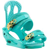 The Teal Deal Burton Citizen Bindings Womens