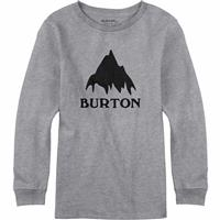 Gray Heather Burton Classic Mountain LS Tee Boys