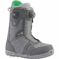 Gray / Green Burton Concord Boa Snowboard Boots Mens