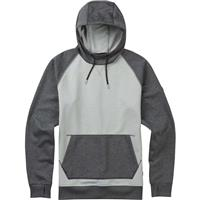High Rise Twill Burton Crown Bonded Pullover Hoodie Mens