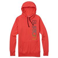 Hot Coral Burton Custom Antidote Pullover Womens