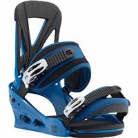 Blue Burton Custom Snowboard Bindings Mens