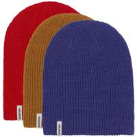 Burton DND Beanie 3-Pack - Flame Scarlet / Royal Blue / Wood Thrush