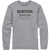 Gray Heather Burton Durable Goods Long Sleeve T Shirt Mens