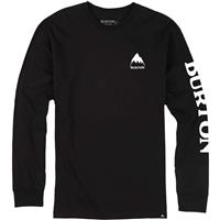 True Black Burton Elite Long Sleeve T Shirt Mens