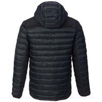 True Black Burton Evergreen Synthetic Hooded Insulator Jacket Mens