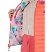 Georgia Peach / Drip Dye Burton Flex Puffy Vest Girls