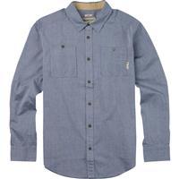 Light Chambray Burton Glade Long Sleeve Shirt Mens