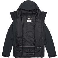 True Black Burton Gore Tex Radial Jacket Mens