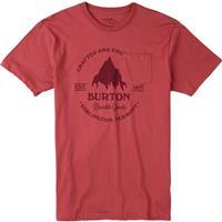 Dusty Cedar Burton Gristmill Slim Short Sleeve Tee Mens
