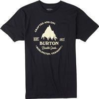True Black Burton Gristmill Slim Short Sleeve Tee Mens