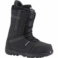 Black Burton Invader Snowboard Boots Mens