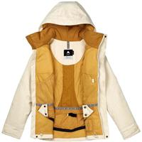 Canvas Fleck Burton Jet Set Jacket Womens