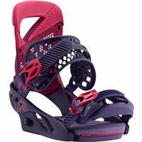 Feelgood Purple Burton Lexa Snowboard Bindings Womens